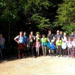 Srečanje družin Cicibanov planincev iz vrtca in mladih planincev iz OŠ na Smrekovcu